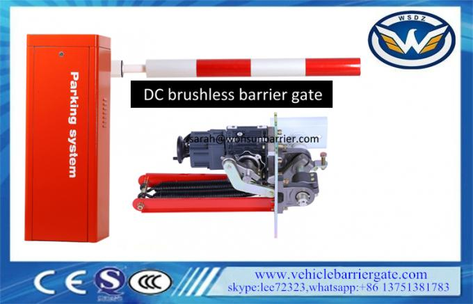 Straight Boom Parking Barrier Gate Frared Sensor Signal Anti Smashing Interface
