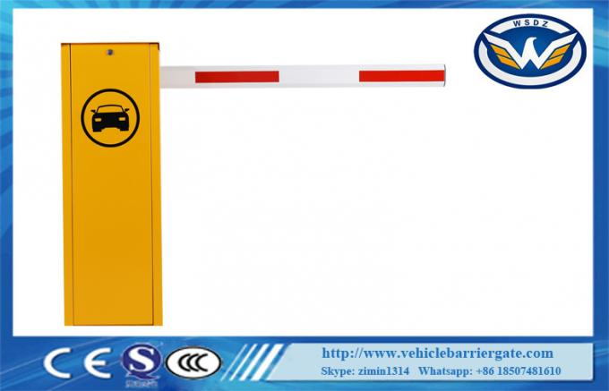 DC Brushless Motor Automatic Barrier Gate 6m Max Arm Length CE Approved