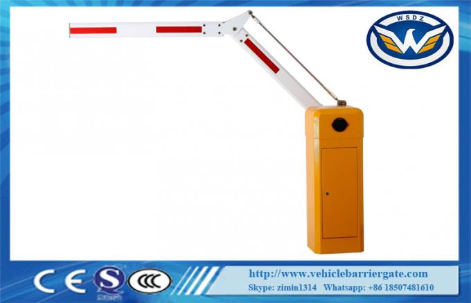 Electric Remote Control Automatic Boom Barrier 320*280*935mm Housing Size