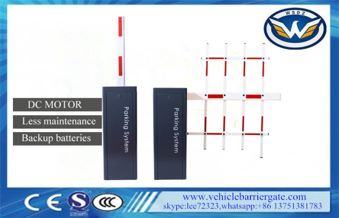 Custom Automatic Barrier Gate / DC Brushless Motor Automatic Arm Barrier