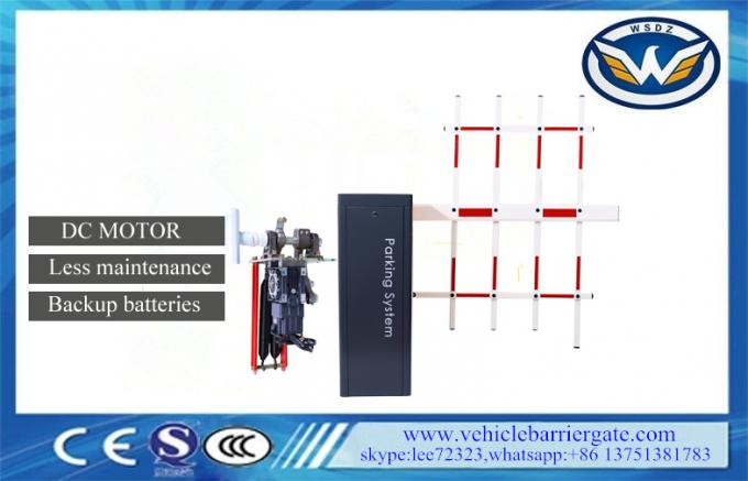 DC 24V Motor Less Maintenance Automatic Barrier Gate System Swing Away